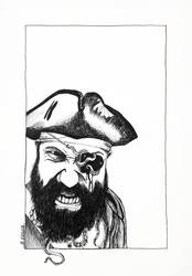 Pirate Portrait by Tryphina