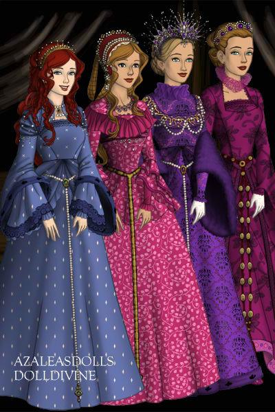 OTMA: The Daughters of Nicholas II by ranichi17