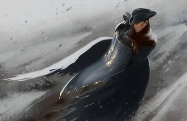Crow and nightingale