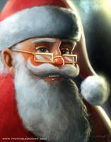 Santa Claus - Portrait by mregina