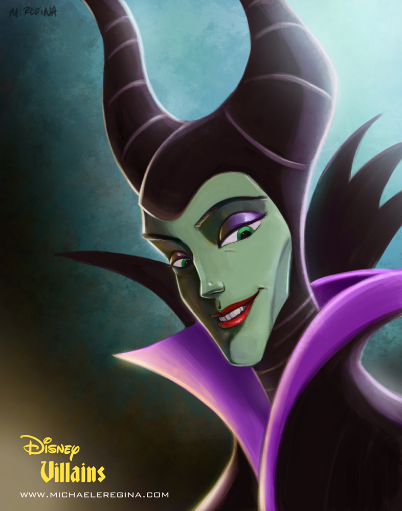 Disney Villains Set 2 - Maleficent by mregina