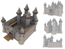 Medival Castle by Crimson-diabloS