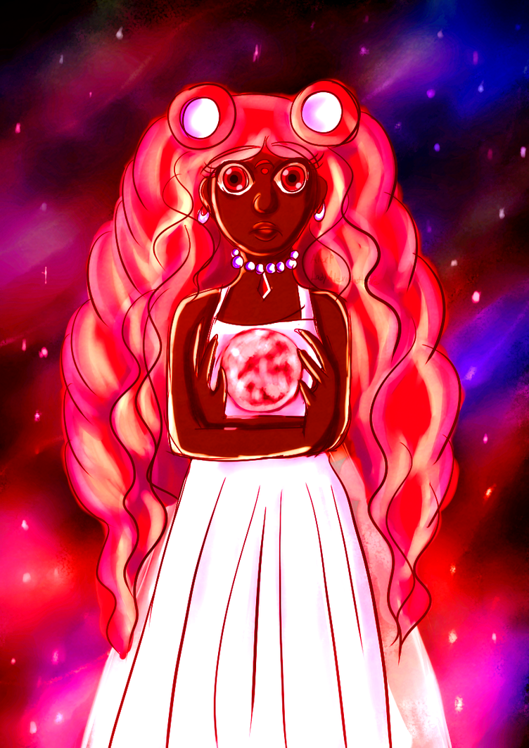 Princess Ayo and her Moon by LadyAlexiaLastHope