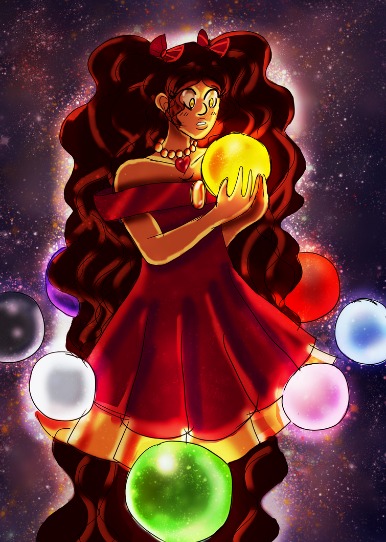Princess And The Gurad Orbs by LadyAlexiaLastHope