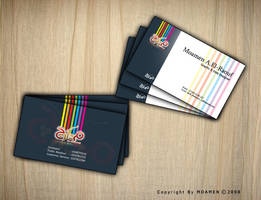 bussines card by moamen-abdelraouf