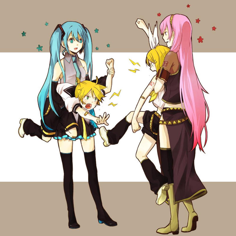 vocaloid rin and len relationship trust