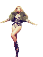 Beyonce PNG by CantinhodoPS