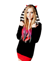 Avril Lavigne PNG by CantinhodoPS