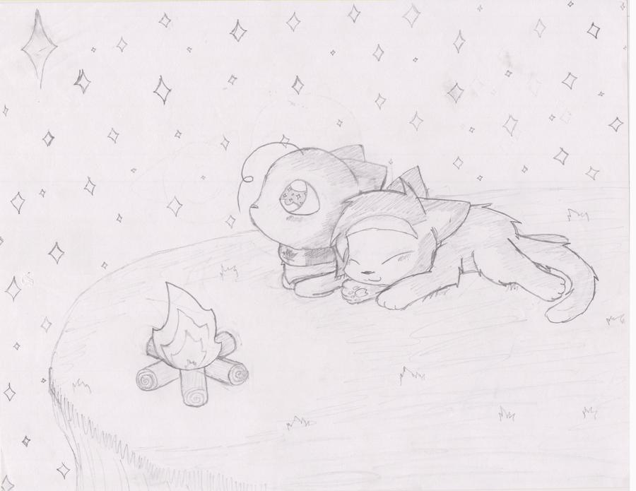 Stars (Drawing) by Kiko-The-Eevee