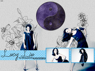 Lucy Liu by OneeNekoChan