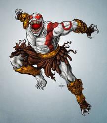 Kratos Venom by edcomics