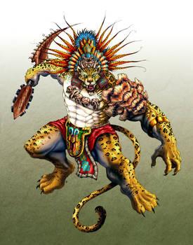 Jaguarrior by edcomics