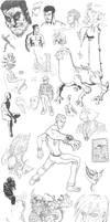 Sketchbook Compilation 1