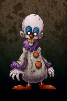 Scary Clown... by edcomics