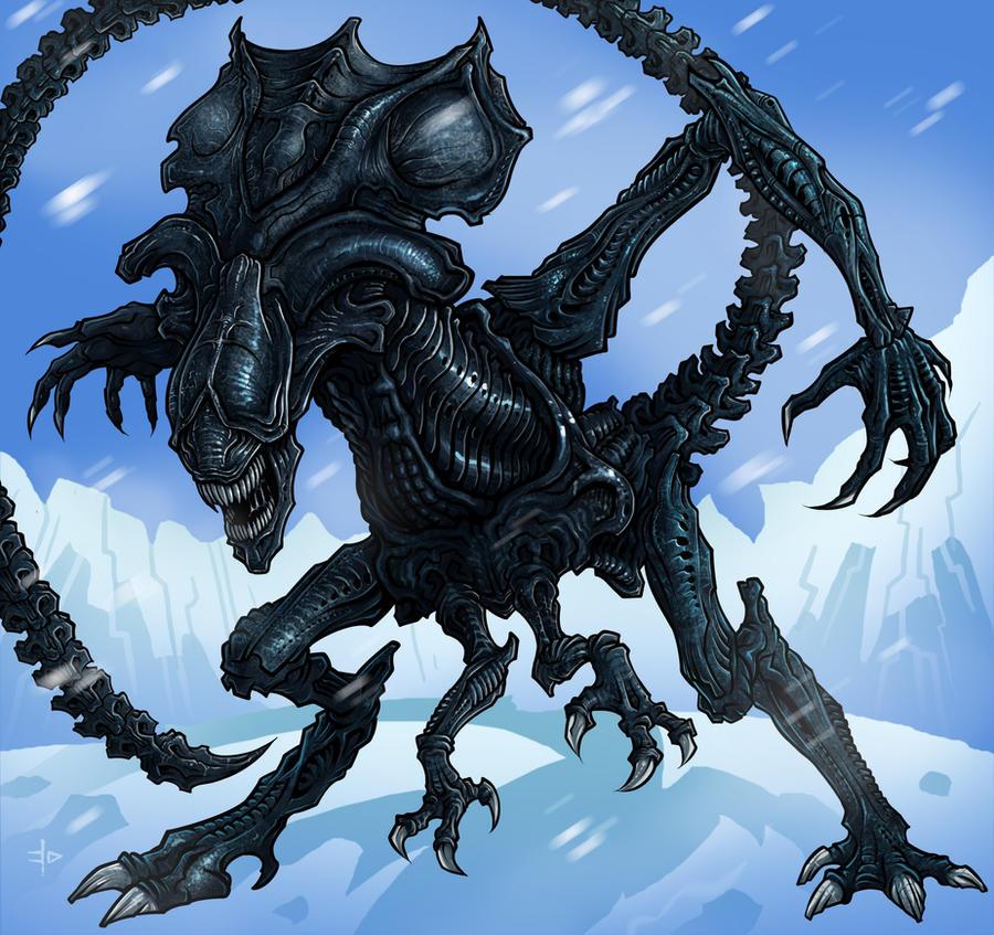 Queen Alien by edcomics