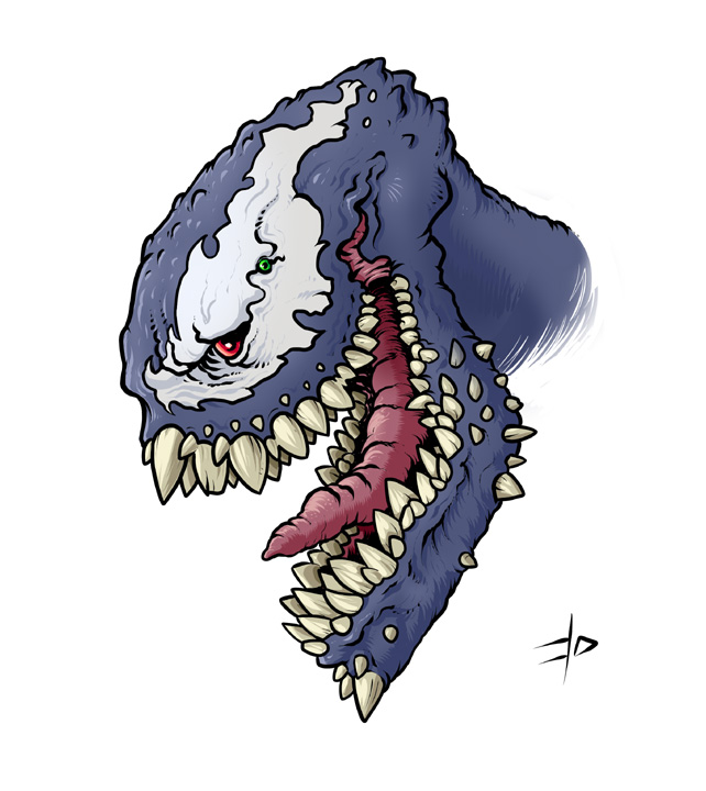 Gnarled Venom by edcomics