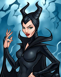 Maleficent by edcomics