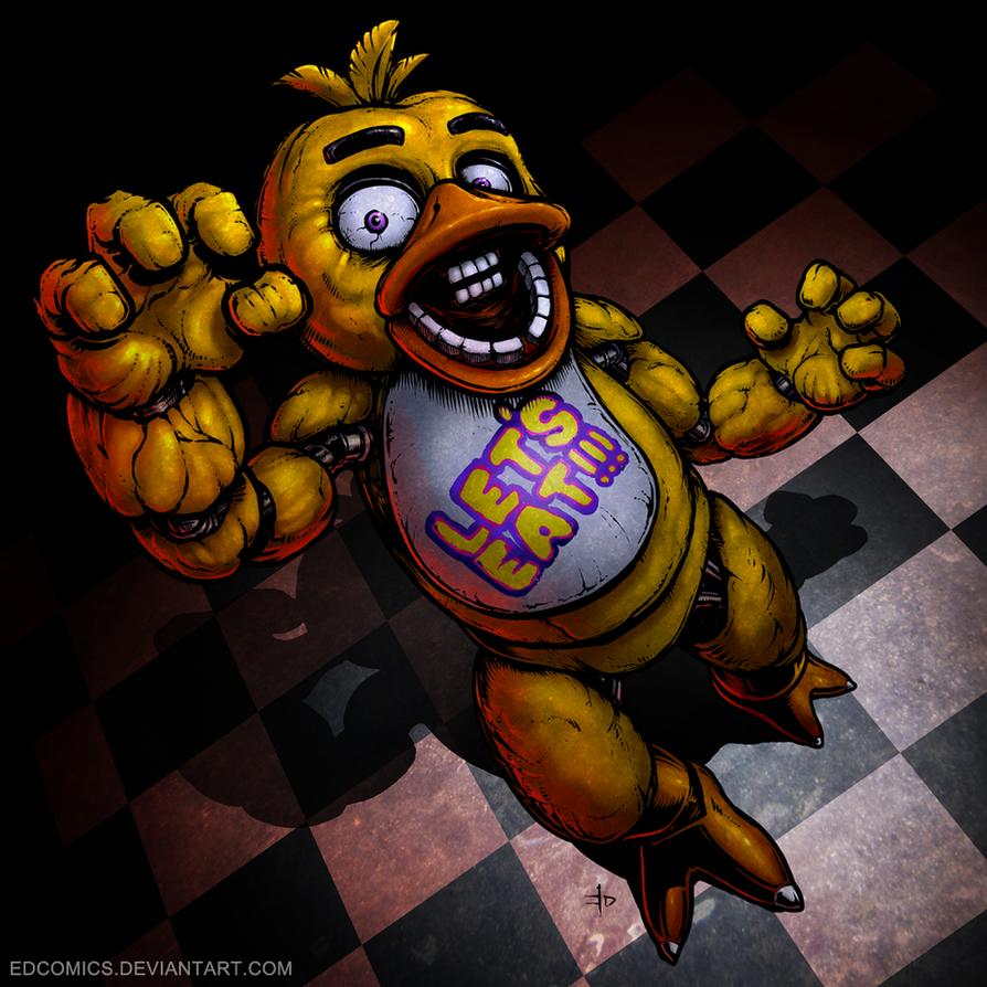 Chica-Colors by edcomics