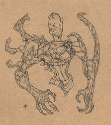 Sketch Creature by edcomics