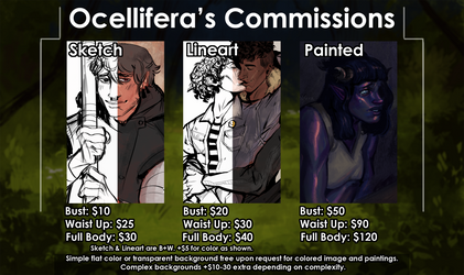 COMMISSION SHEET 2019/2020 [OPEN]