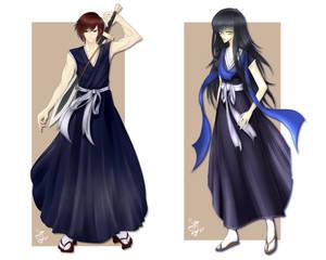 Shinigami warriors