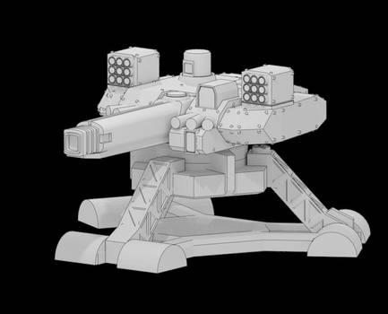 Battle Turret for 3D print