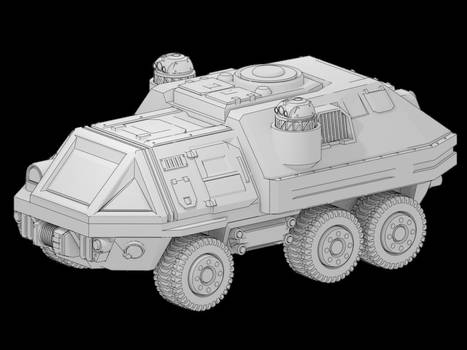 Military truck - free model