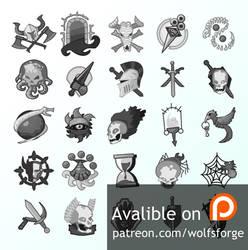 26 Fantasy Vector Icons