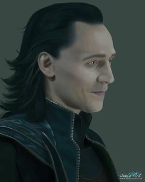 Loki by JessiArts