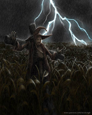 What Haunts the Fields by JessiArts