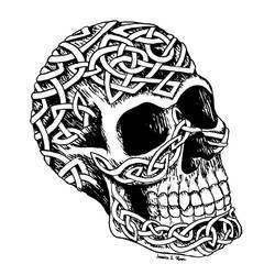 Celtic Skull by JessiArts