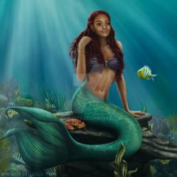 Halle Bailey as The Little Mermaid