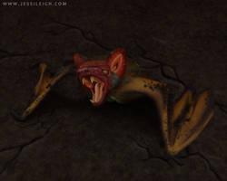 Fruit Bat | Drawlloween Day 3