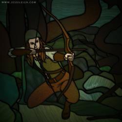 Huntress | Drawlloween Day 5