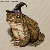 Toad | Drawlloween Day 8
