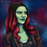 Gamora by JessiArts