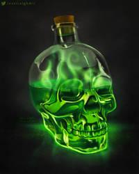 Poison Bottle Drawlloween 2020
