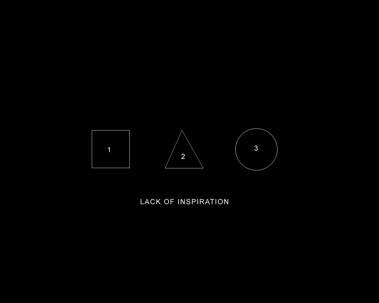 Lack of Inspiration by slabe