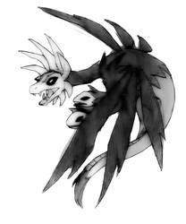 Request - Hydreigon by Chaos-Flower