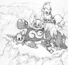 Request - Pokemon picnic by Chaos-Flower