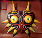 Painted Majora's Mask - commission by stormygate