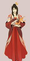 Fire magic and pretty dresses