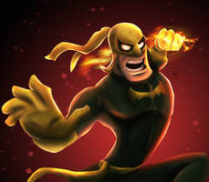 Iron Fist! by JonathanCortright