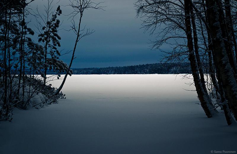 Dark Lake by Puuronen