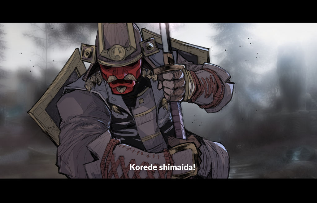 Kensei fan art by HolyVarus on DeviantArt