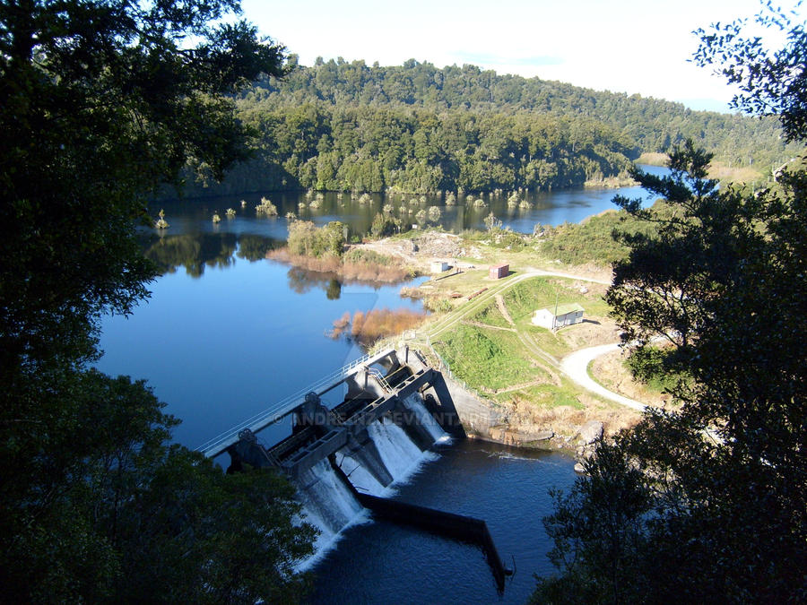Arnold River Dam by andre-nz on DeviantArt