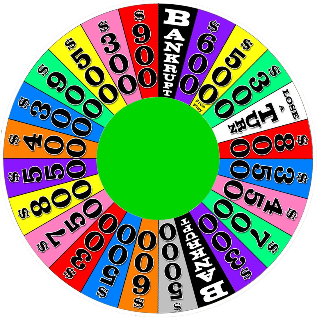 Super Wheel of Fortune Wheel (2010) by Larry4009 on DeviantArt