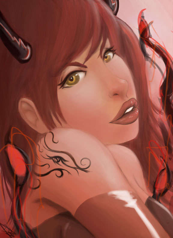 Ruby gaze by gunrir