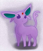 Espeon by PrincePiePlant