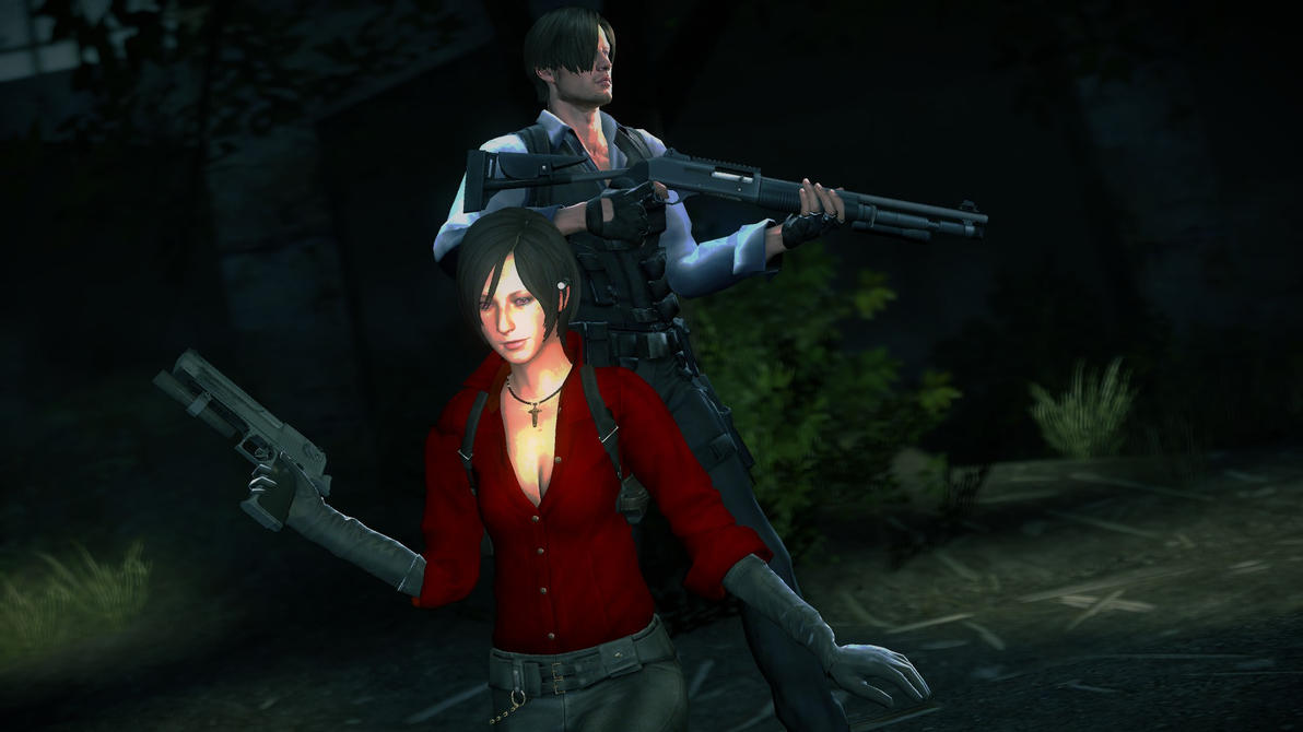 Ada and Leon  RE6  by